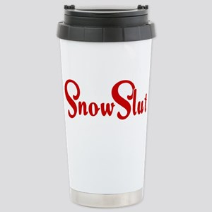Snow Slut Stainless Steel Travel Mug