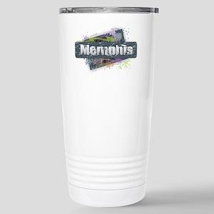 Memphis Design Stainless Steel Travel Mug
