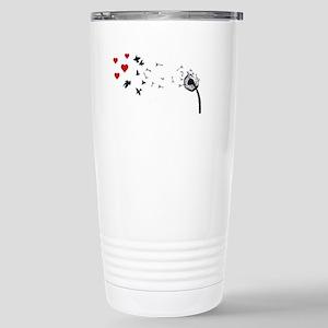 Dandelion Love Stainless Steel Travel Mug