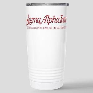 Sigma Alpha Iota Stainless Steel Travel Mug