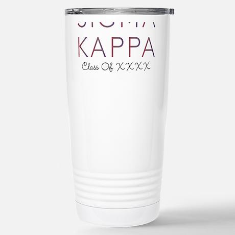 Sigma Kappa Class Travel Mug