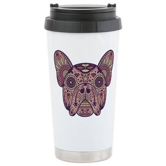 French Bulldog Sugar Skull