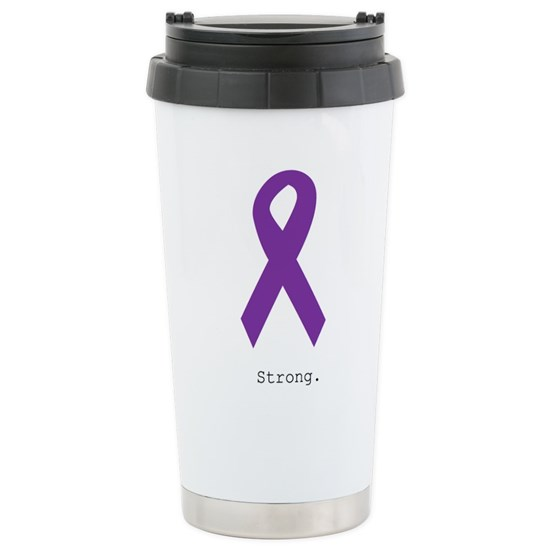 Strong. Purple Ribbon