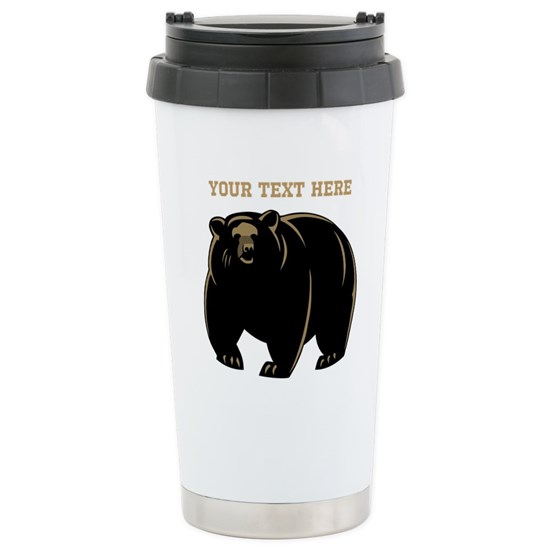Big Bear with Custom Text.