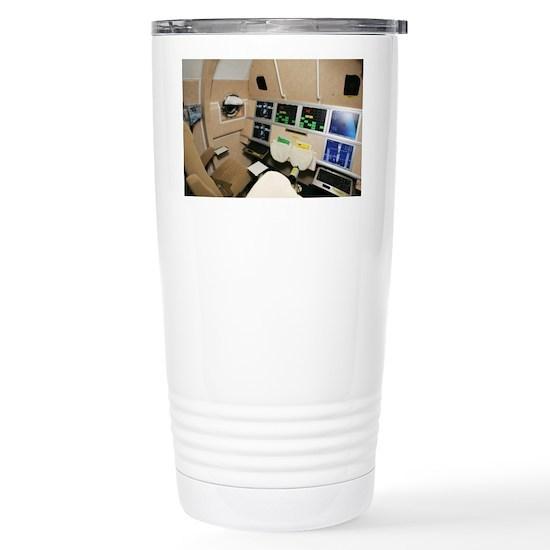 Kliper spacecraft interior 16 oz stainless steel travel - Travel mug stainless steel interior ...