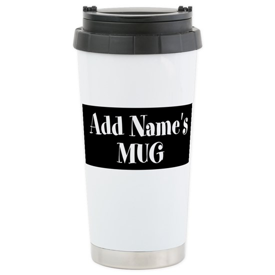 Personalized 16 Oz Stainless Steel Travel Mug