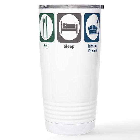 W1057 interior design 16 oz stainless steel travel mug - Travel mug stainless steel interior ...