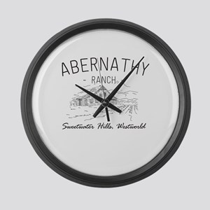 Abernathy Ranch Sweetwater Large Wall Clock