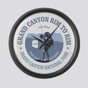 Grand Canyon Rim to Rim Large Wall Clock