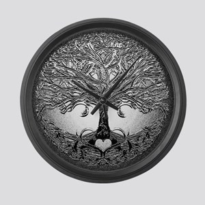 Tree of Life Bova Large Wall Clock