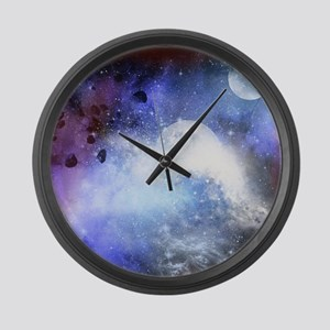 The universe Large Wall Clock
