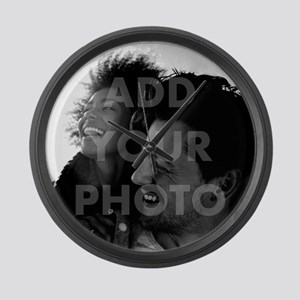 Add Your Photo Large Wall Clock