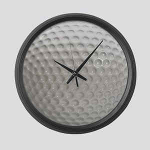 Golf Ball Sport Large Wall Clock