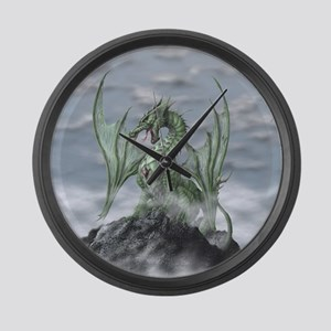 MistyAllOverBACK Large Wall Clock