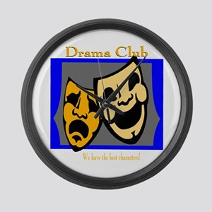 Drama Club Large Wall Clock