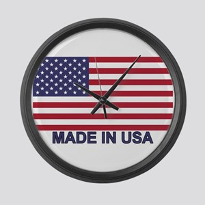 Made In The Usa Wall Clocks Cafepress