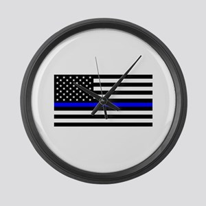 Police: Black Flag & The Thin Blue Line Large Wall