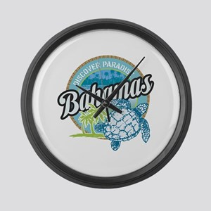 Bahamas Large Wall Clock