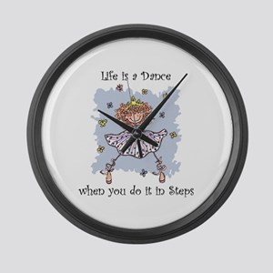 Life is a DANCE~2000x2000P Large Wall Clock