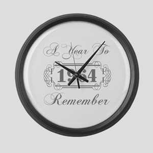 1964 A Year To Remember Large Wall Clock