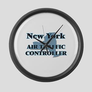 New York Air Traffic Controller Large Wall Clock