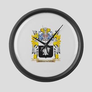 Bridgewater Coat of Arms - Family Large Wall Clock