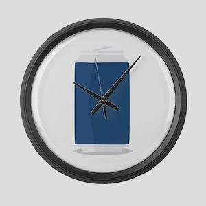Tin Can Large Wall Clock