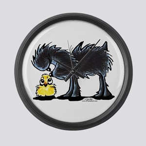 Affen n' Chick Large Wall Clock