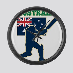 Cricket Australia Large Wall Clock