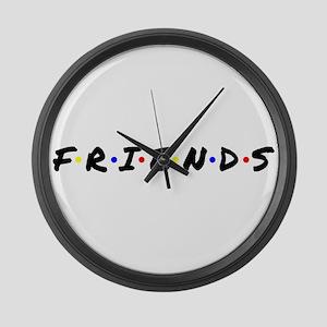 FRIENDS Large Wall Clock