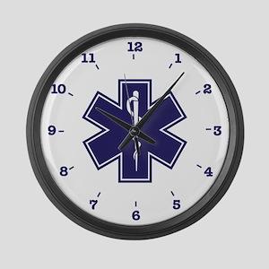 Emergency Medical Technician Large Wall Clock