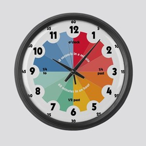 Teaching Large Wall Clock
