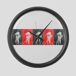 Shostakovich Large Wall Clock