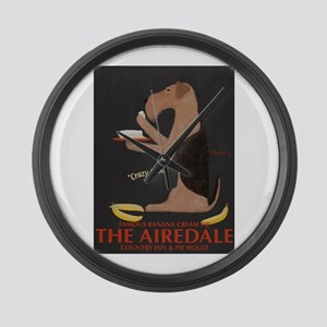The Airedale Large Wall Clock
