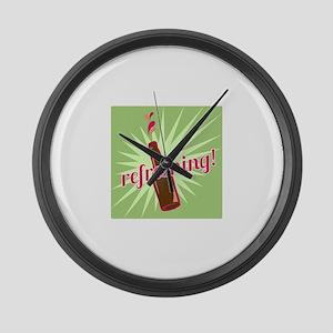 Refreshing Pop Large Wall Clock