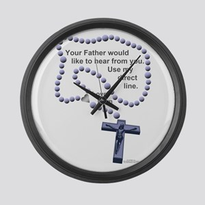 Love Mom 1 Large Wall Clock