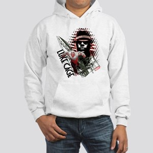 Luke Cage Leaping Hooded Sweatshirt