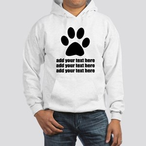 Dog's paw Hooded Sweatshirt