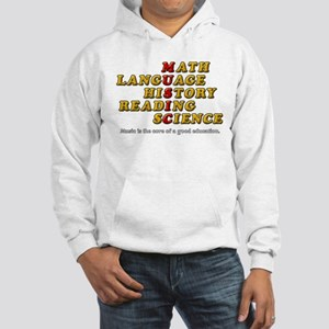 Music is The Core of a Good Educ Hooded Sweatshirt