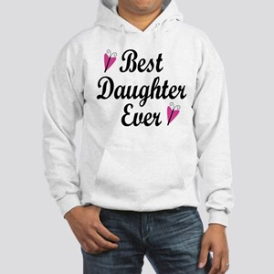 Best Daughter Ever Hooded Sweatshirt