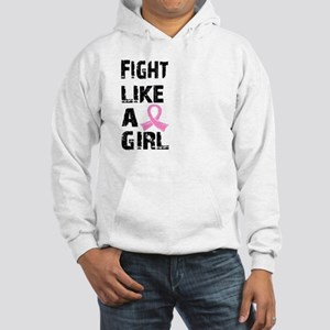 Licensed Fight Like a Girl 21.8 Hooded Sweatshirt