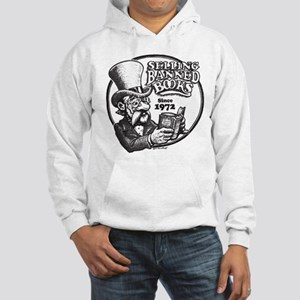 Selling Banned Books Hooded Sweatshirt