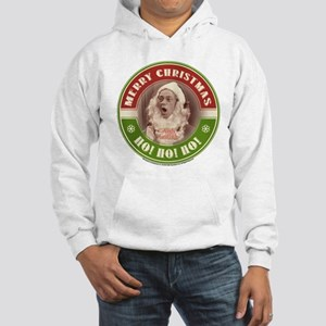 Barney Santa Hooded Sweatshirt