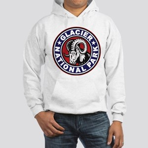 d2b52bb4 Glacier Red White & Blue Circle Hooded Sweatshirt