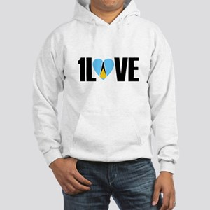 1LOVE ST.LUCIA Hoodie