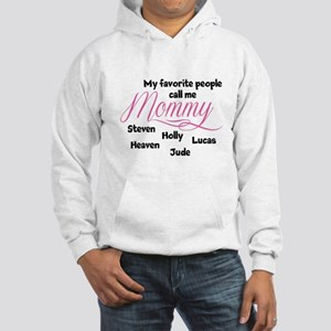 Mommy personalized kids Hoodie