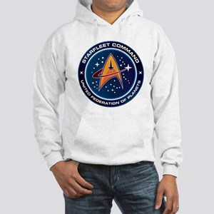 Star Trek Federation Of Planets Patch Hooded Sweat