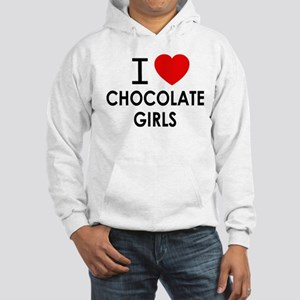 I LOVE CHOCOLATE GIRLS Hoodie