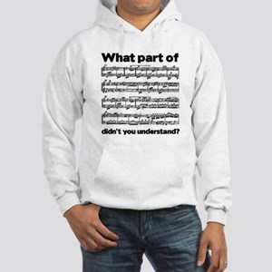 Partiture Hooded Sweatshirt