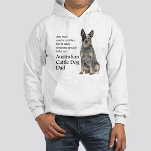 Cattle Dog Dad Hoodie